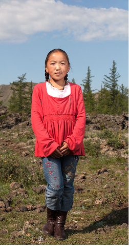 Arkhangai province Mongolia portrait photo by Amirdash